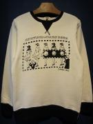 "EDWARD LOW ""S-WIND-LE06"" SWEAT (WHITE)"