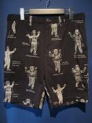 WEIRDO  COSTUMES - SHORTS (BLACK)