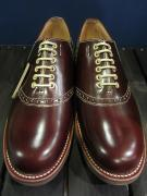 GLADHAND×REGAL SADDLE SHOES (BROWN)