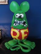 【USED】Rat Fink Big Statue