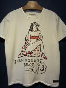Delinquent Bros / Pin Up Girl Tee