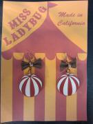 Miss Ladybug M.L CIRCUS EARRING