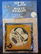 North No Name FELT PATCH (D MONSTER)