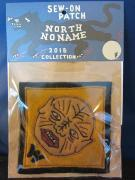 North No Name FELT PATCH (W MONSTER)