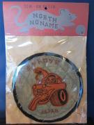 North No Name FELT PATCH (ホットロッド)