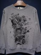 "Vinny×EDWARD LOW ""THE LOWS"" SWEAT (GRAY)"