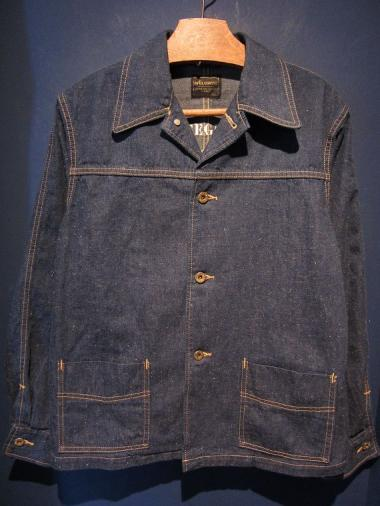 BY GLADHAND  BANI - COVERALL JACKET (INDIGO)