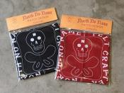 "【予約】NORTH NO NAME/ BANDANA ""SKULL"""