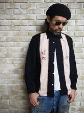 【予約】NORTH NO NAME/ SNAKE CHARMER SHIRTS