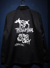 "GAVIAL / coach jacket ""thugliminalogy"""