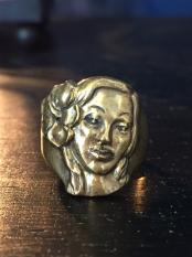 NORTH NO NAME/ HULA HEAD RING/ BRASS
