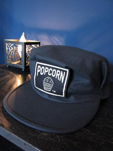 WEIRDO  POPCORN - WORK CAP (BLACK)