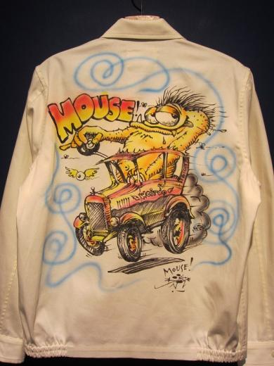 WEIRDO  MOUSE HOTROD - JACKET (AIR BRUSH)