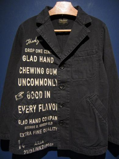 BY GLADHAND  GLAD CHEWING GUM - COAT (BLACK)