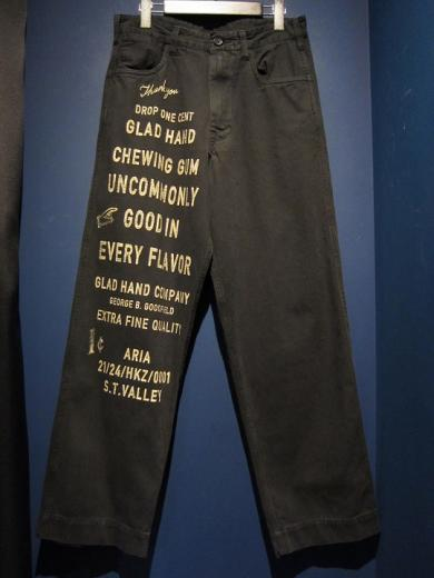 BY GLADHAND  GLAD CHEWING GUM - PANTS (BLACK)