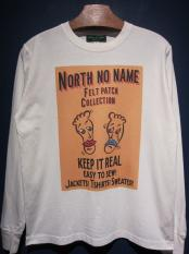 "NORTH NO NAME/ FRONT COVER L/S T ""TWO FACE"""