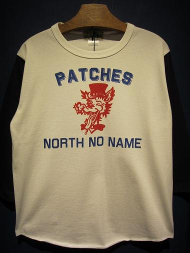 NORTH NO NAME   PATCHES (WHITE)