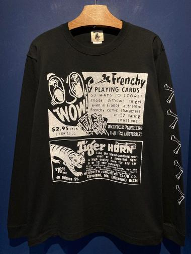 "EDWARD LOW ""SWINDLE 10th"" L/S T (BLACK)"