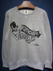 "EDWARD LOW ""Vinny's STICKER"" SWEAT (GRAY)"