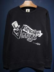 "EDWARD LOW ""Vinny's STICKER"" SWEAT (NAVY)"