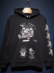 "EDWARD LOW×Vinny ""swd 7th"" SWEAT PARKA (NAVY)"