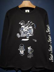 "EDWARD LOW×Vinny  ""swd 7th"" CUT SEW (BLACK)"
