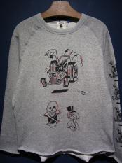 "EDWARD LOW×Vinny  ""swd 7th"" CUT SEW (GRAY)"
