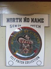 North No Name FELT PATCH (ATTACKED BY PIRATES)