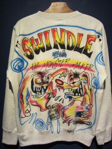 "Wino ""SWINDLE 7th""the MONSTER MAKER SWEAT(C)Size:M"