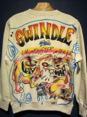 "Wino ""SWINDLE 7th""the MONSTER MAKER SWEAT(A)Size:S"