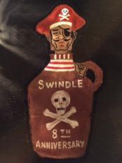 "NORTH NO NAME×SWINDLE 8th ""PIRATE"" FELT PATCH"