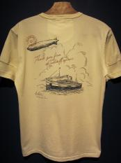 BY GLADHAND POSTAL OCEAN - HENRY NECK S/S T-SHIRT