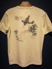 BY GLADHAND POSTAL FLIGHT - HENRY NECK S/S T-SHIRT