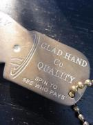 GLAD HAND GH YOU PAY SPINNER - KEY FOB