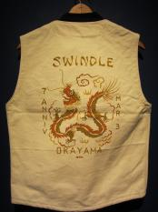 North No Name×SWINDLE 7th/HAND PAINT VEST(B)SIZE:M