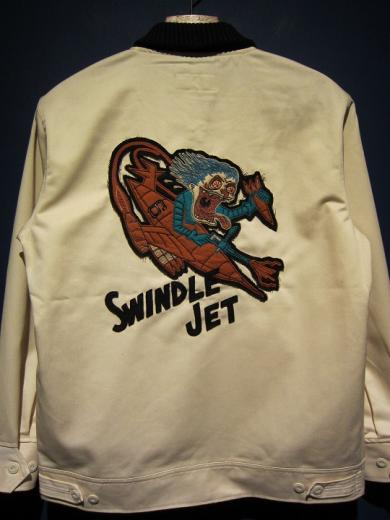 "North No Name×SWINDLE6th ""SWINDLE JET"" JKT"