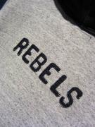 "Delinquent Bros / ""REBELS""AFTER HOODIE (NAVY)"