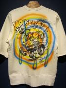 WEIRDO  MOUSE HOTROD - S/S SWEAT (AIR BRUSH)