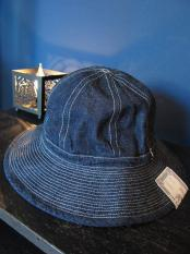 THE H.W.DOG&CO.  38Y FATIGUE HAT (INDIGO)