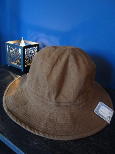 THE H.W.DOG&CO.  38Y FATIGUE HAT (BROWN)