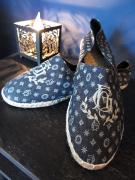 BY GLADHAND  GH ROOM SHOES-PRINT (MONOGRAM)
