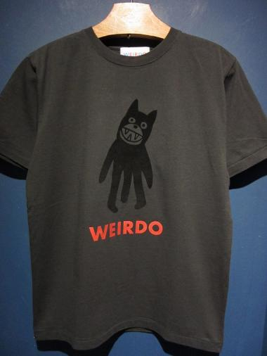 WEIRDO  FOLLIES - S/S  T-SHIRTS (BLACK)