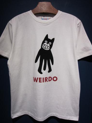 WEIRDO  FOLLIES - S/S  T-SHIRTS (WHITE)