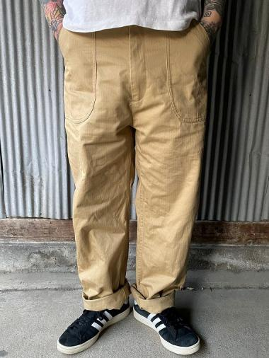 NORTH NO NAME/ UTILITY TROUSERS (BEIGE)