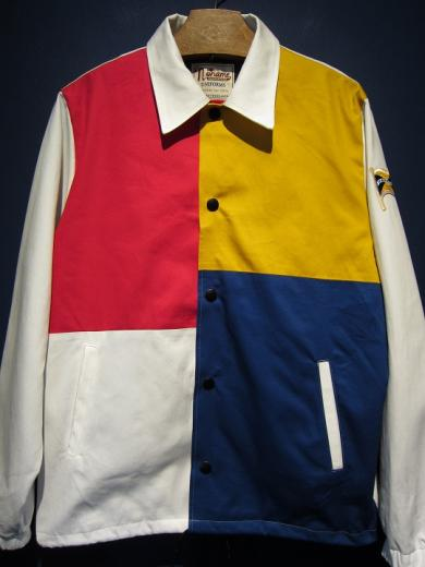 "North No Name /""MONDRIAN""COACH JACKET"