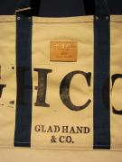 GLAD HAND & Co. GH CANVAS - LARGE TOTE