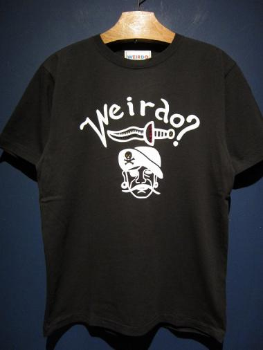 WEIRDO  PIRATES - S/S T-SHIRTS (BLACK)