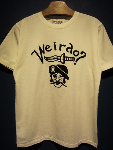WEIRDO  PIRATES - S/S T-SHIRTS (WHITE)