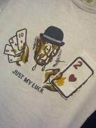 "5WHISTLE/""JUST MY LUCK""Gimmic Tee (WHITE)"