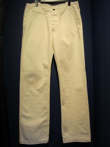 NORTH NO NAME   NNN TROUSERS (WHITE)